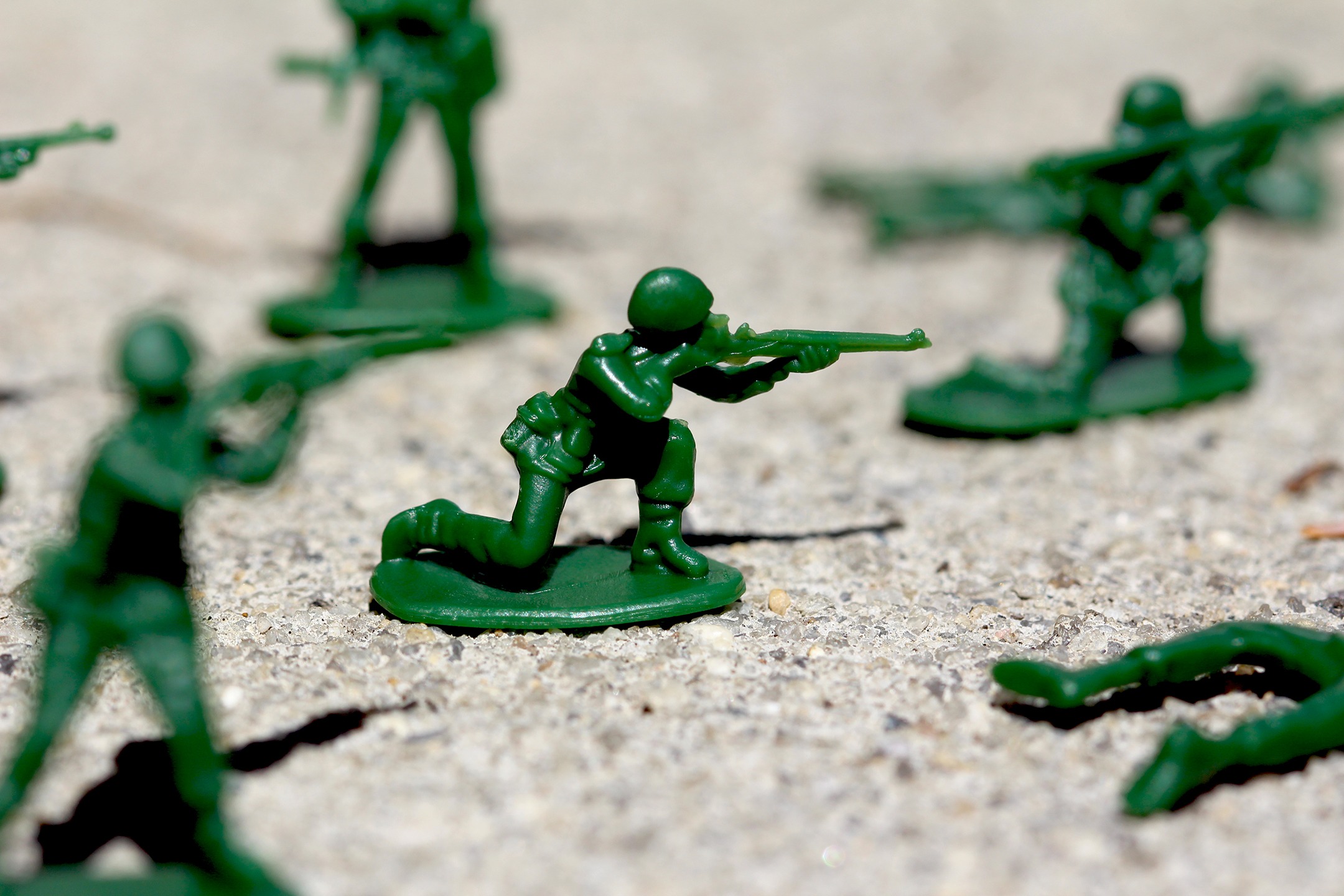 World's Smallest Little Green Army Men