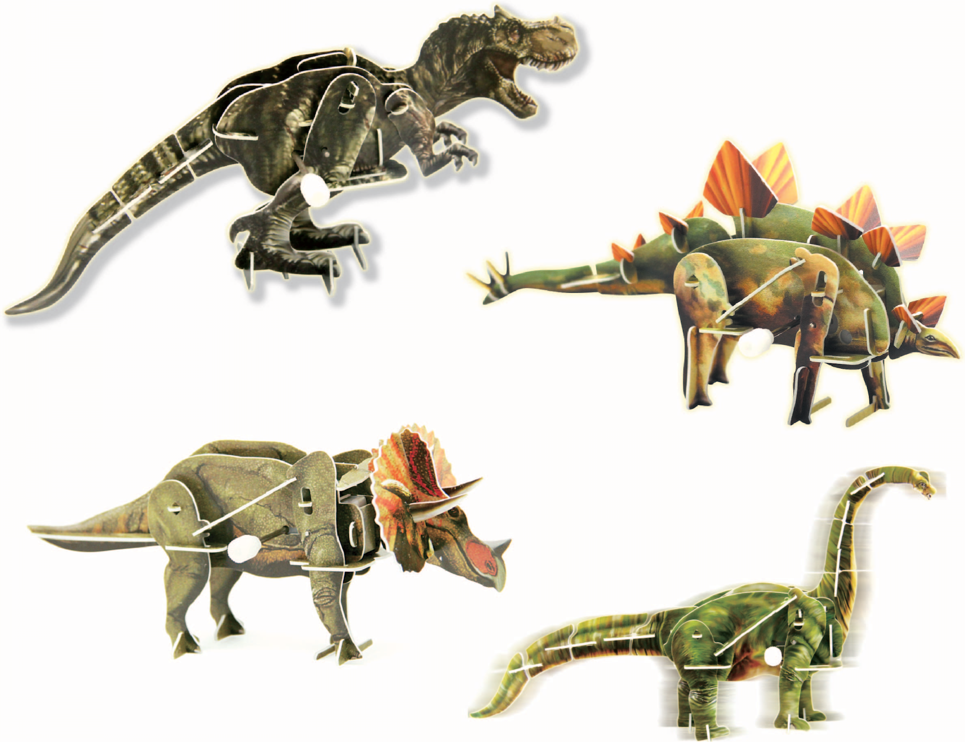 3-D motokit - dinosaur