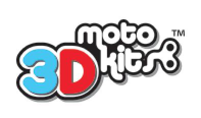3-D moto kits logo