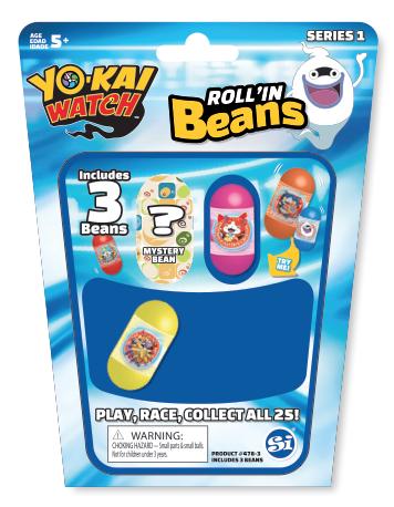 yo-kai rollin beans packaging