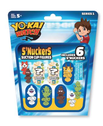 yo-kai s'nuckers packaging