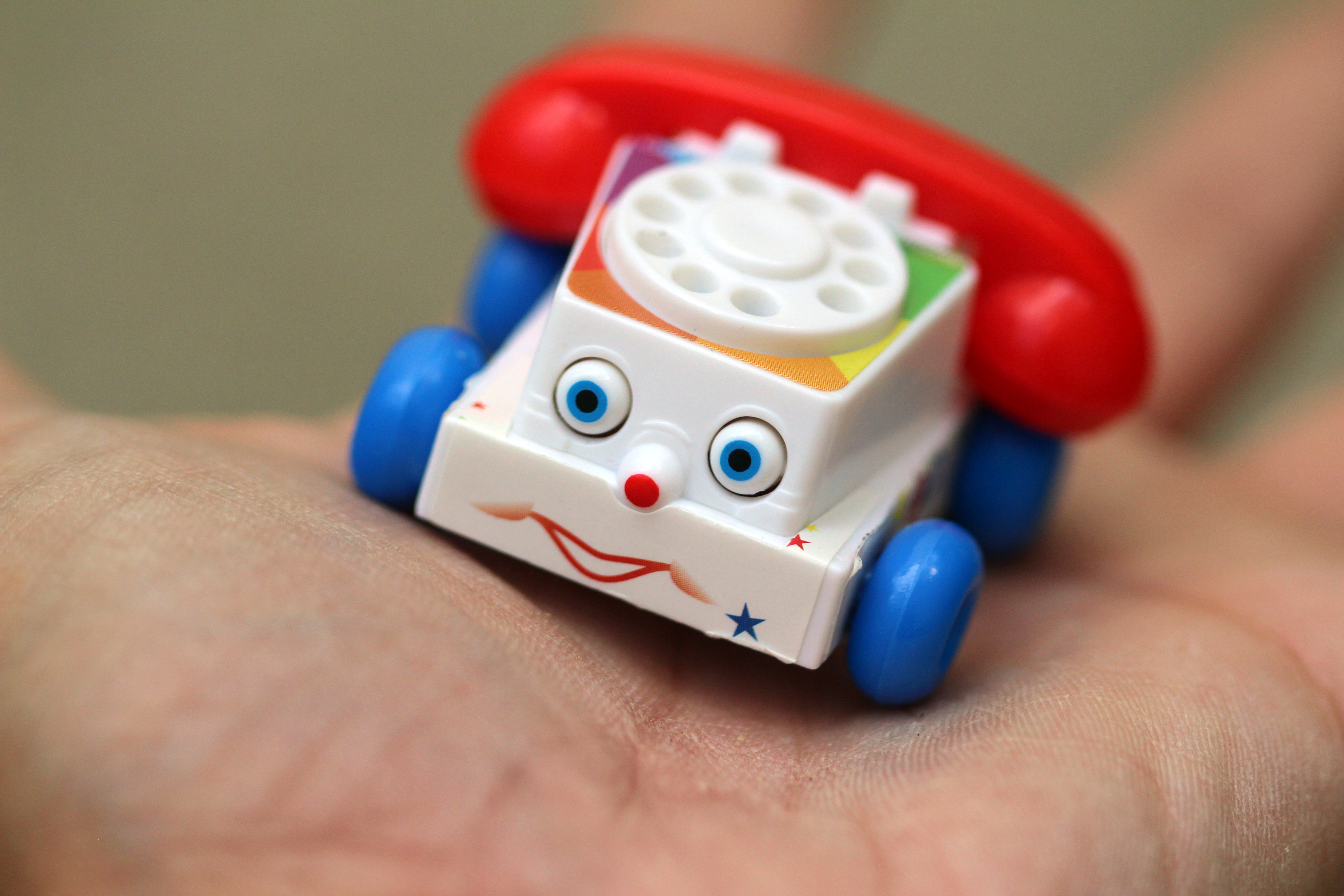 World's Smallest Fisher-Price Chatter Telephone