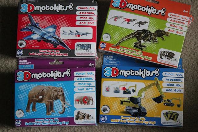 3-D motokit packaging