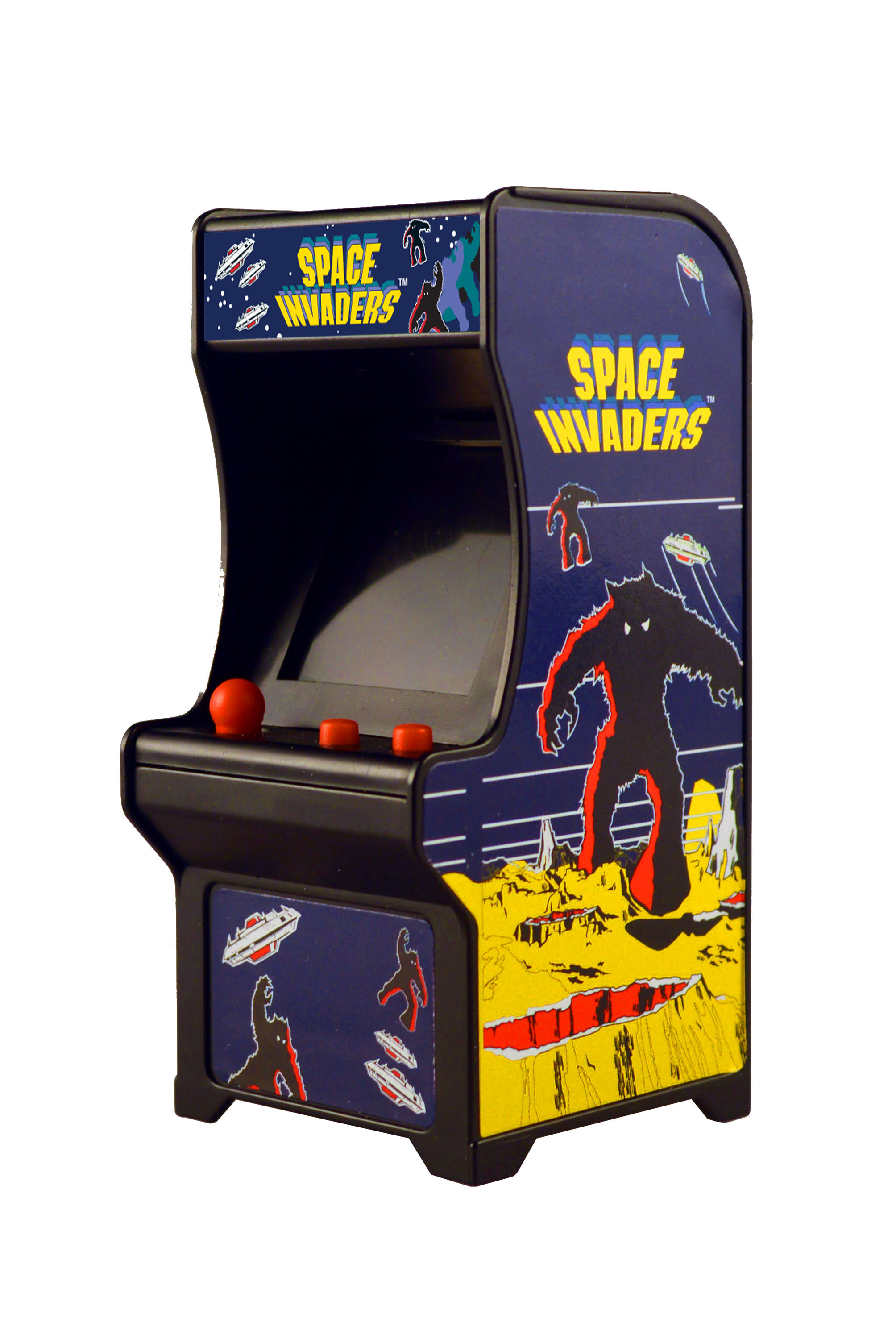 Miniature iconic arcade games are now available from Super Impulse.
