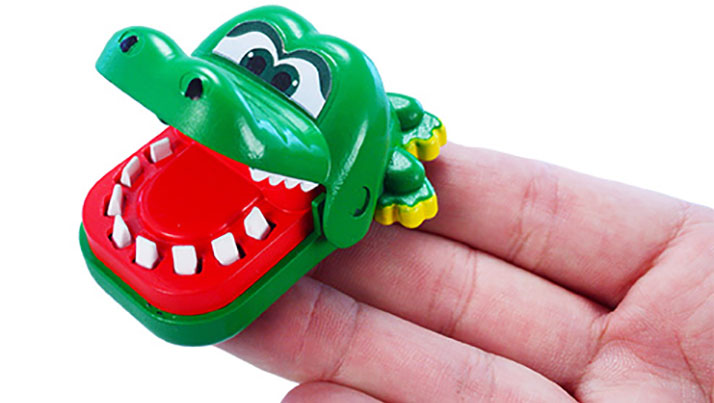 World's Smallest Crocodile Dentist