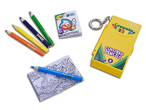World's Smallest Crayola Color Pencil / Coloring Book Set