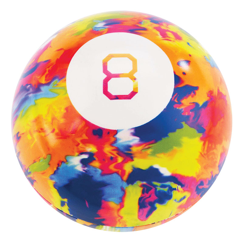 Magic 8 Ball Tie Dye