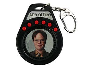 The Office Dwight Talking Keychain